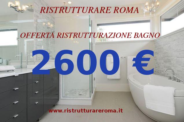 Offerta Ristrutturazione Bagno Roma | Costo Ristrutturazione Bagno ...