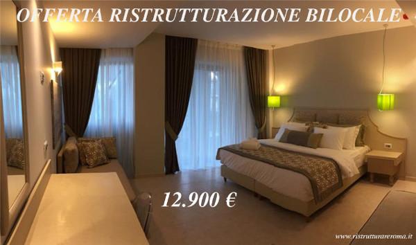 Offerta ristrutturazione bilocale roma ristrutturare for Mobili low cost roma