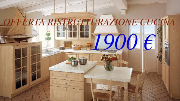 Offerta Ristrutturazione cucina Roma | Ristrutturare Roma | Low Cost